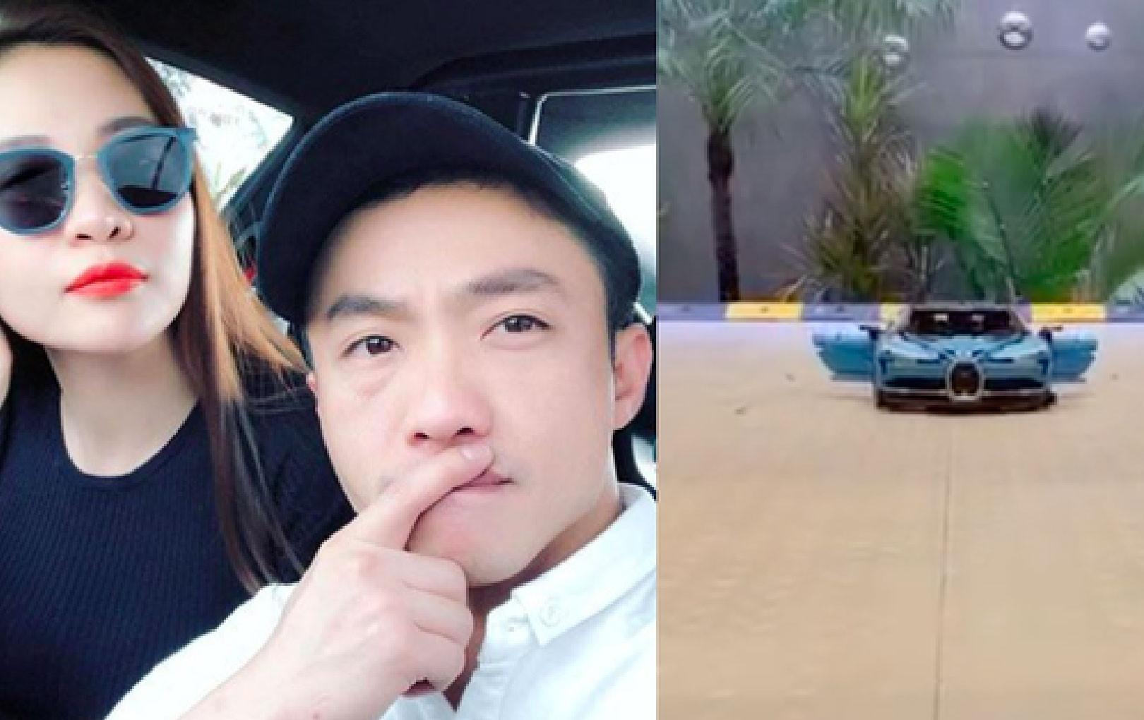 """Đàm Thu Trang mua hẳn """"siêu xe"""" tặng Cường Đô La dịp Giáng sinh nhưng sao có gì đó sai sai"""
