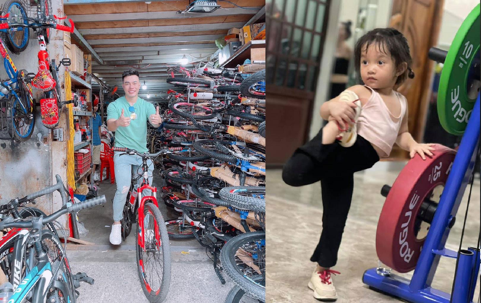 Lê Dương Bảo Lâm khoe con gái uốn dẻo như diễn viên xiếc chuyên nghiệp khi chỉ mới 3 tuổi