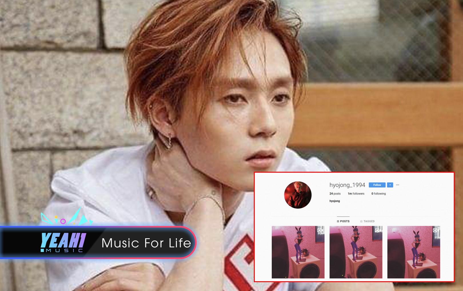 Chăm chỉ đăng ảnh tình cảm với HyunA, E'Dawn chính thức cán mốc 1 triệu người theo dõi trên Instagram