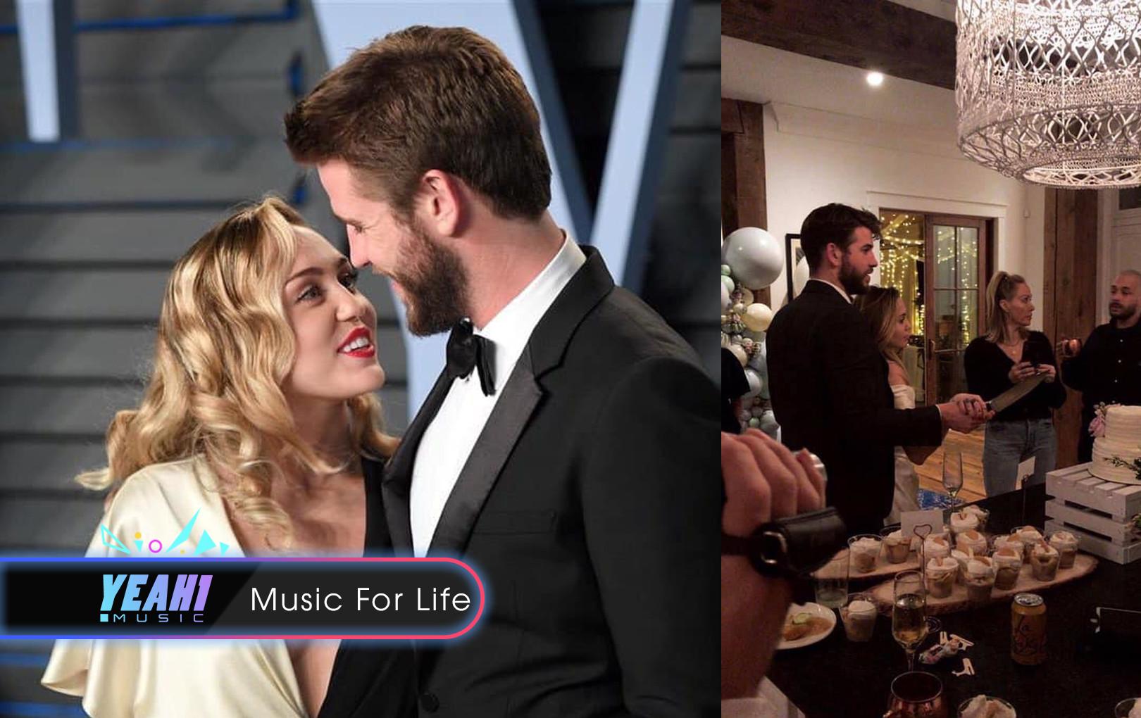 Sau 10 năm yêu nhau, Miley Cyrus và Liam Hemsworth đã về chung một nhà