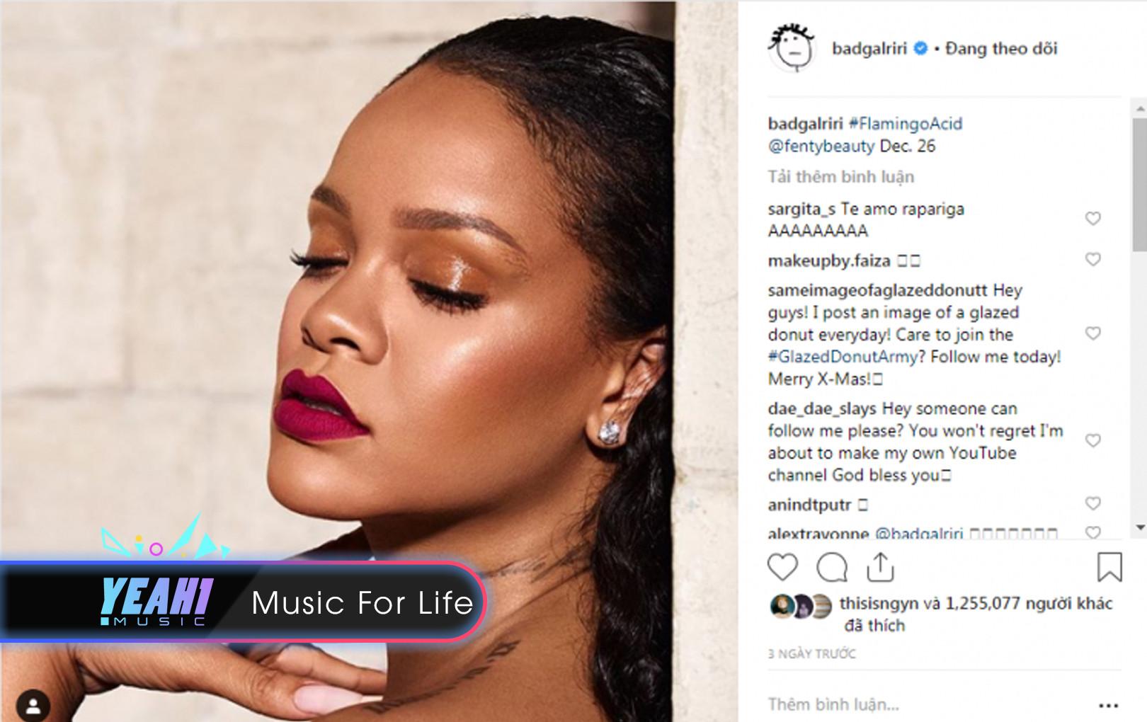 """""""Chờ Ri chờ đến bao giờ"""" - đây là tiếng lòng của fan Rihanna suốt năm 2018 cho một album mới đã trôi vào quên lãng"""