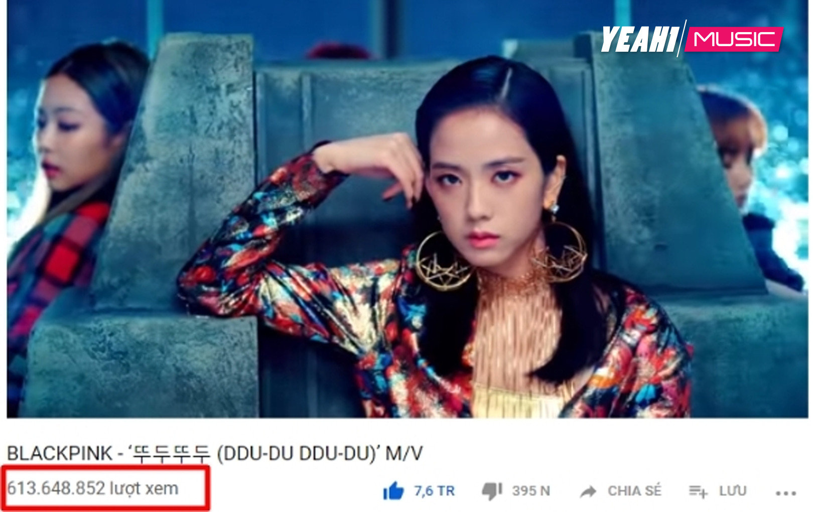 """Lượt view """"Du ddu du ddu"""" vượt mặt """"DNA"""", BTS đánh mất ngôi vương Youtube vào tay Blackpink"""