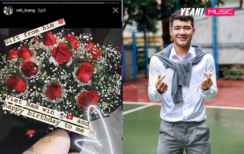 """Việt Nam thắng là thế, nhưng Chinh """"đen"""" vẫn không quên gửi hoa chúc mừng sinh nhật người yêu?"""