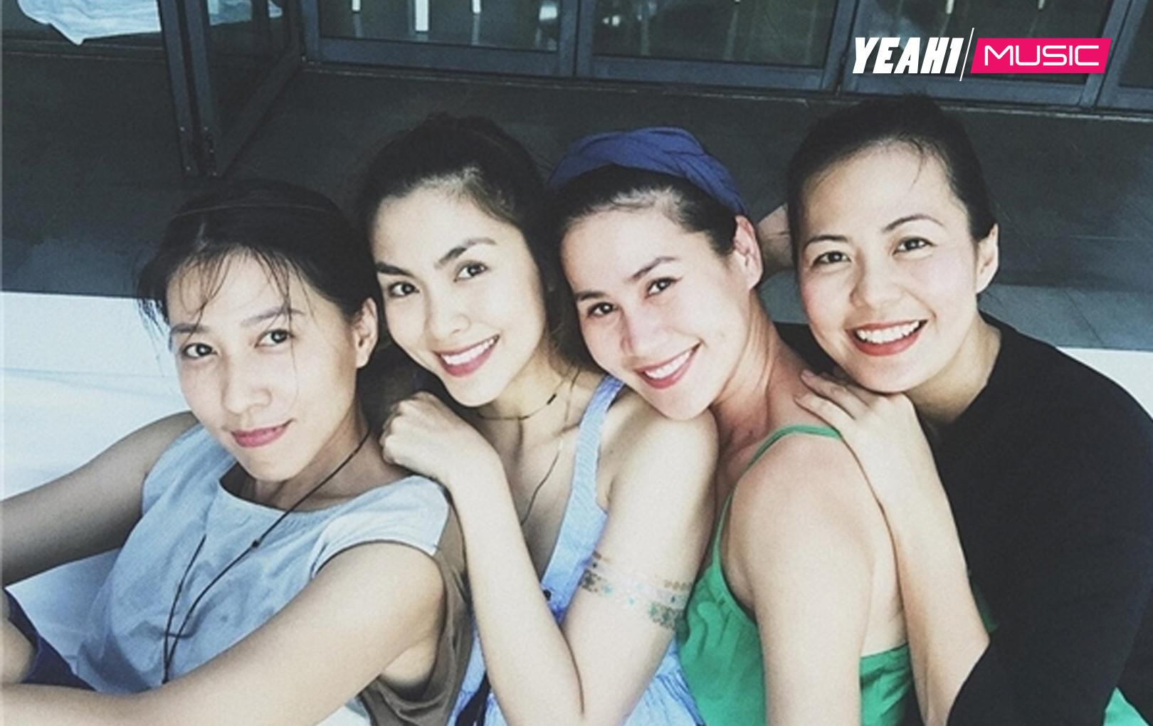 Điểm danh những hội bạn thân đình đám của showbiz Việt