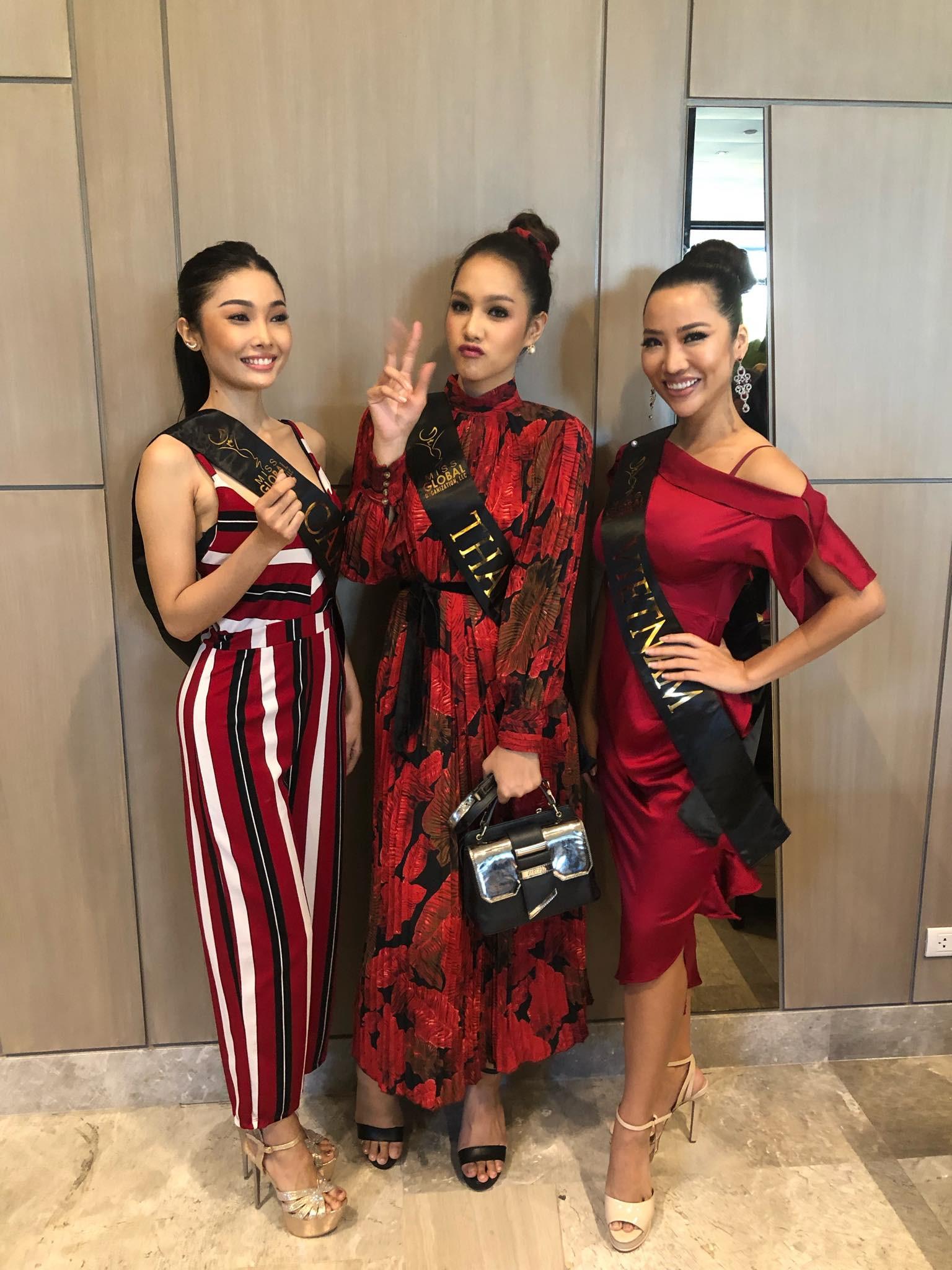 Tuyên bố không thi nhan sắc nhưng Á hậu Kiko vì sao vẫn lên đường tham gia cuộc thi thứ 5?