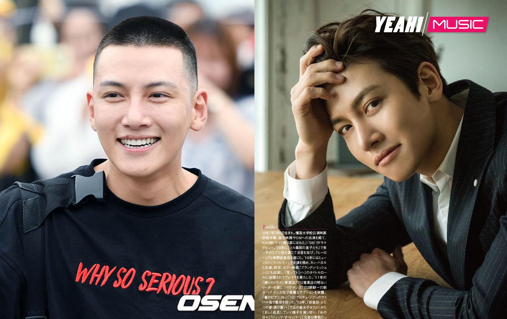 Chỉ có thể là Ji Chang Wook, kiểu tóc nào cũng xuất thần, ngay cả để đầu đinh