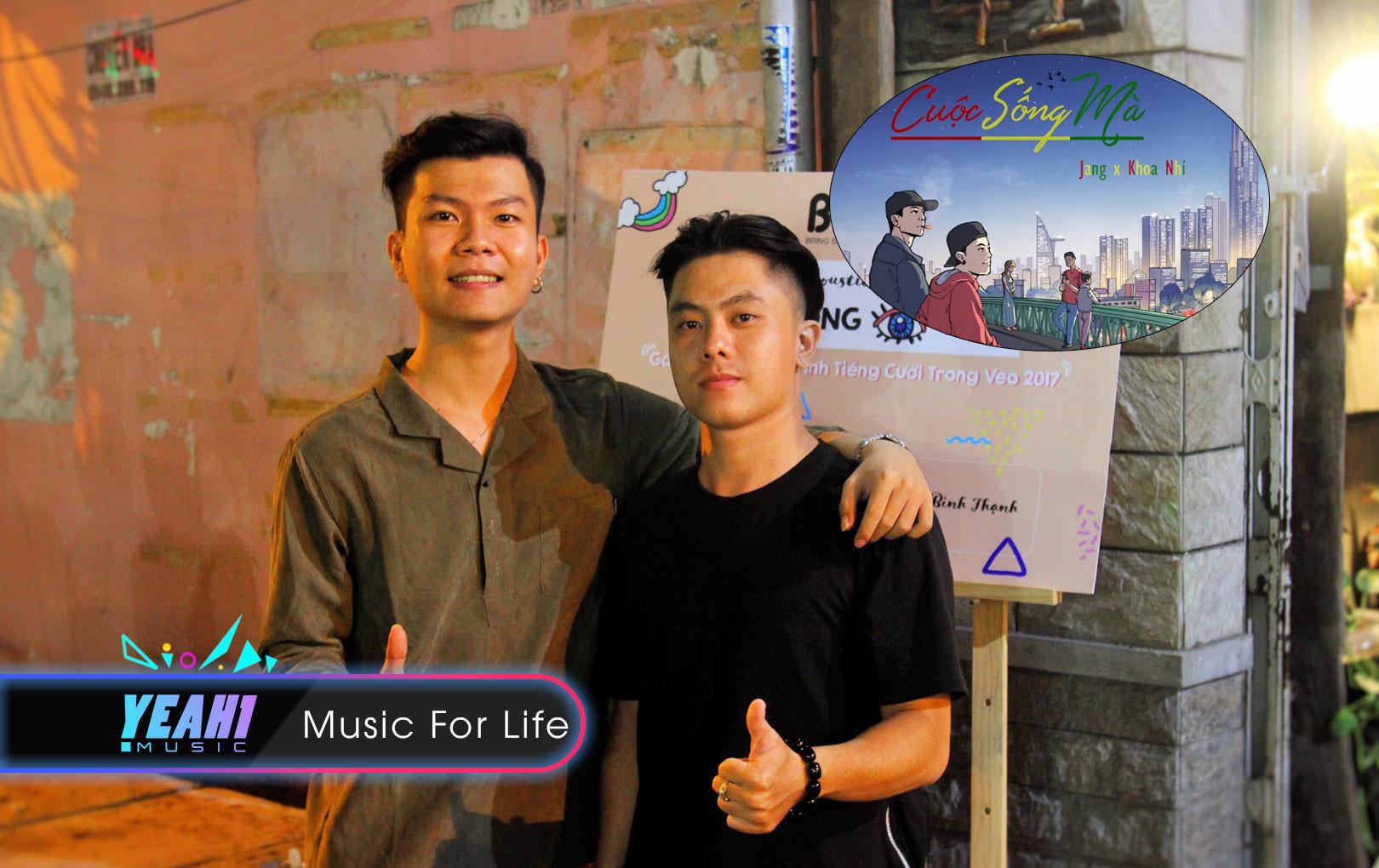 """Cặp đôi Rapper Khoa Nhí - Jang """"khuấy đảo"""" cộng đồng mạng qua ca khúc """"Cuộc sống mà"""""""