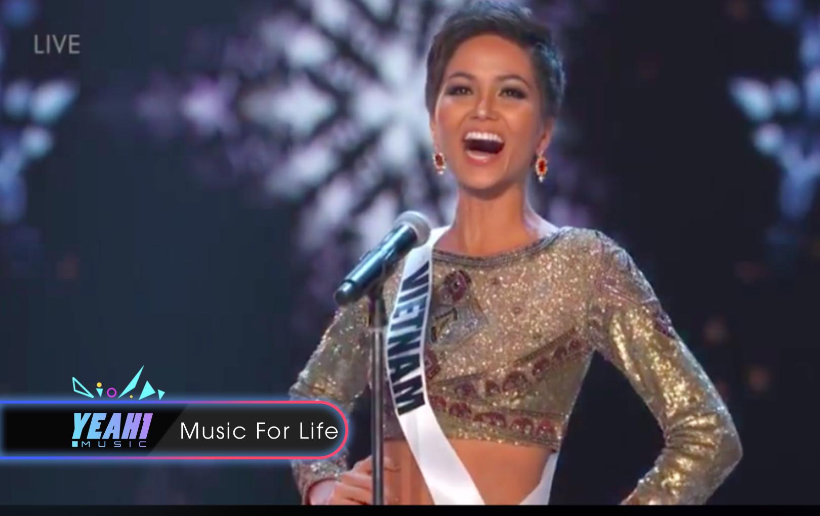 H'Hen Niê tự tin hô to Việt Nam, tự tin trình diễn bikini ở bán kết Miss Universe