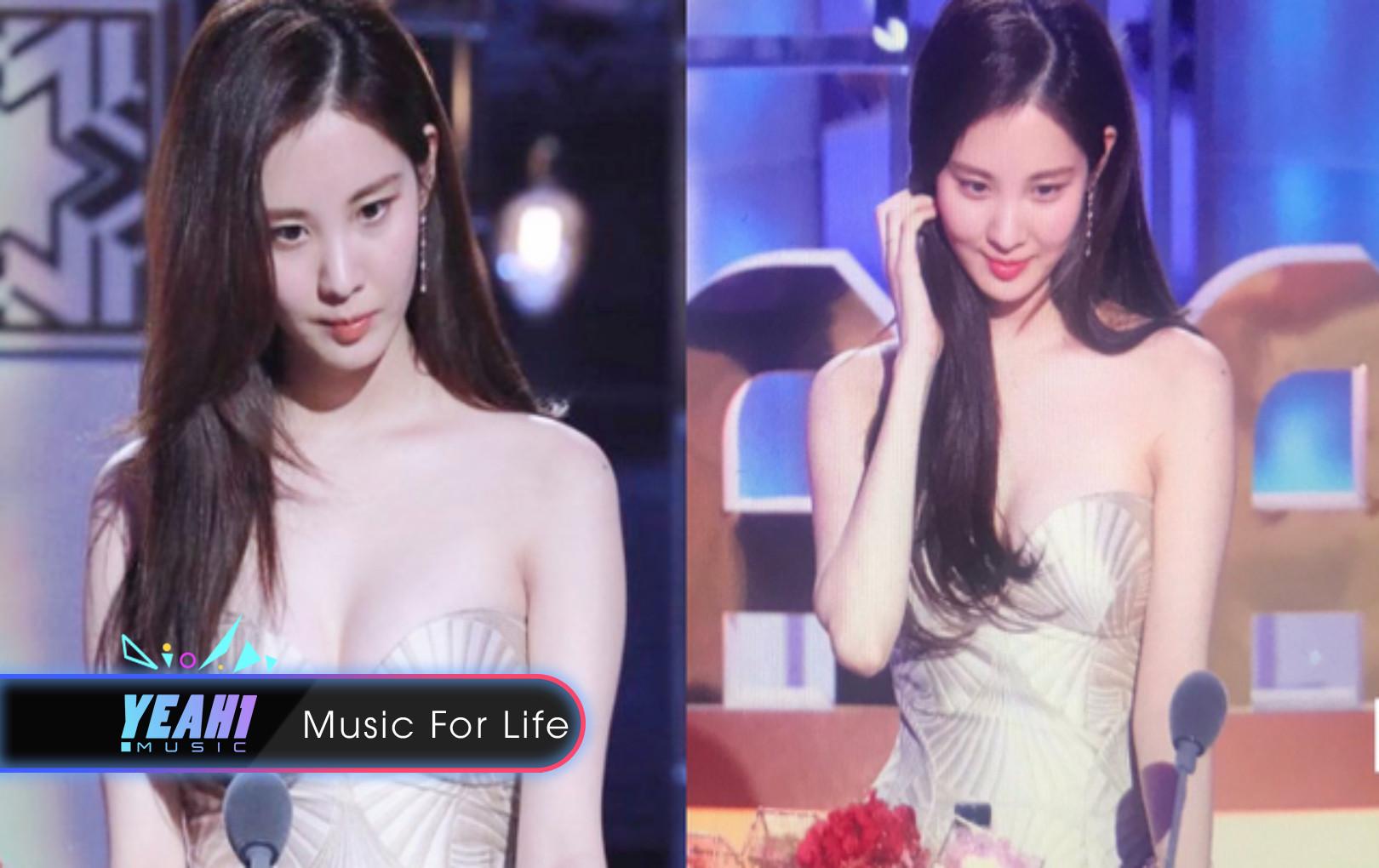 Rũ bỏ hình tượng em út ngoan hiền, Seohyun (SNSD) táo bạo khoe vòng 1 tại MBC Drama Awards 2018