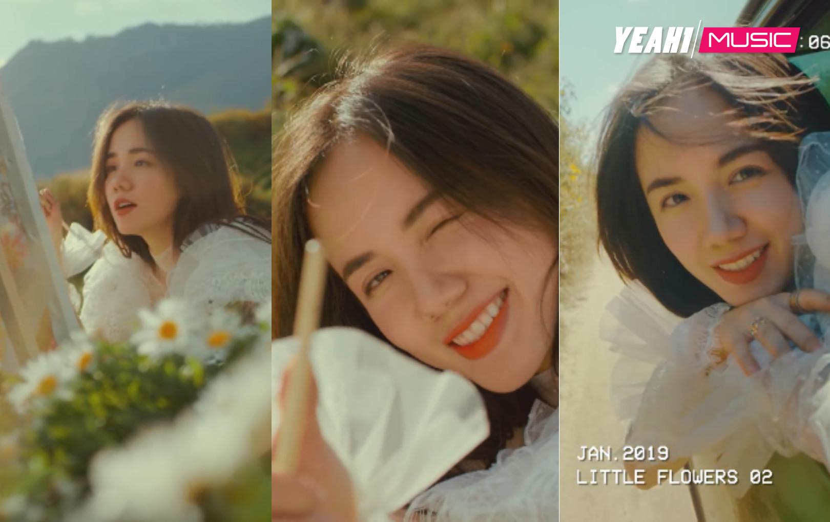 """Phương Ly """"thả xích"""" MV """"Anh là ai"""", hóa nàng thơ trên đồi thảo nguyên"""