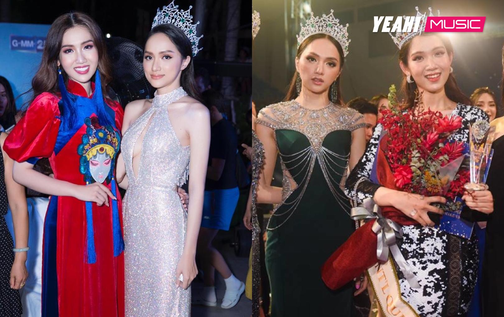 Hương Giang động viên Nhật Hà trước thềm chung kết Hoa hậu Chuyển giới Quốc tế