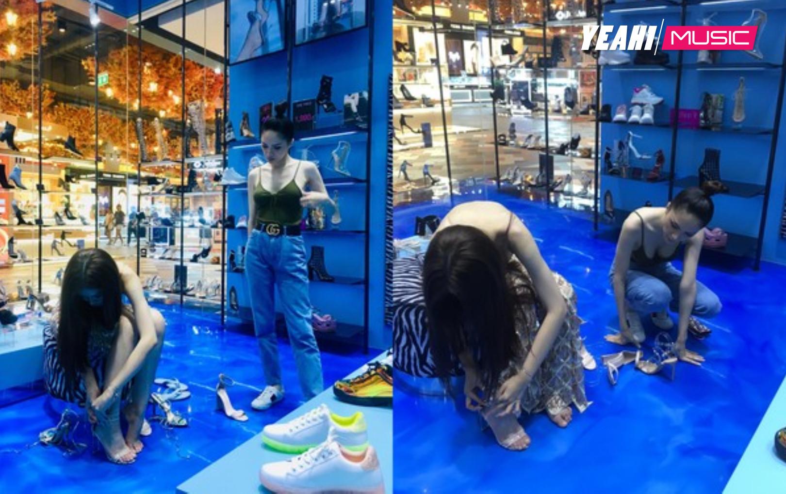 Hé lộ hình ảnh Hương Giang giúp Nhật Hà mua giày và gửi lời nhắn nhủ cảm động sau khi hết nhiệm kỳ
