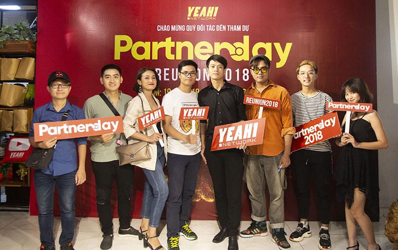 Hơn 200 Youtuber nổi tiếng khắp cả nước nước hội tụ tại Yeah1 Partner Day