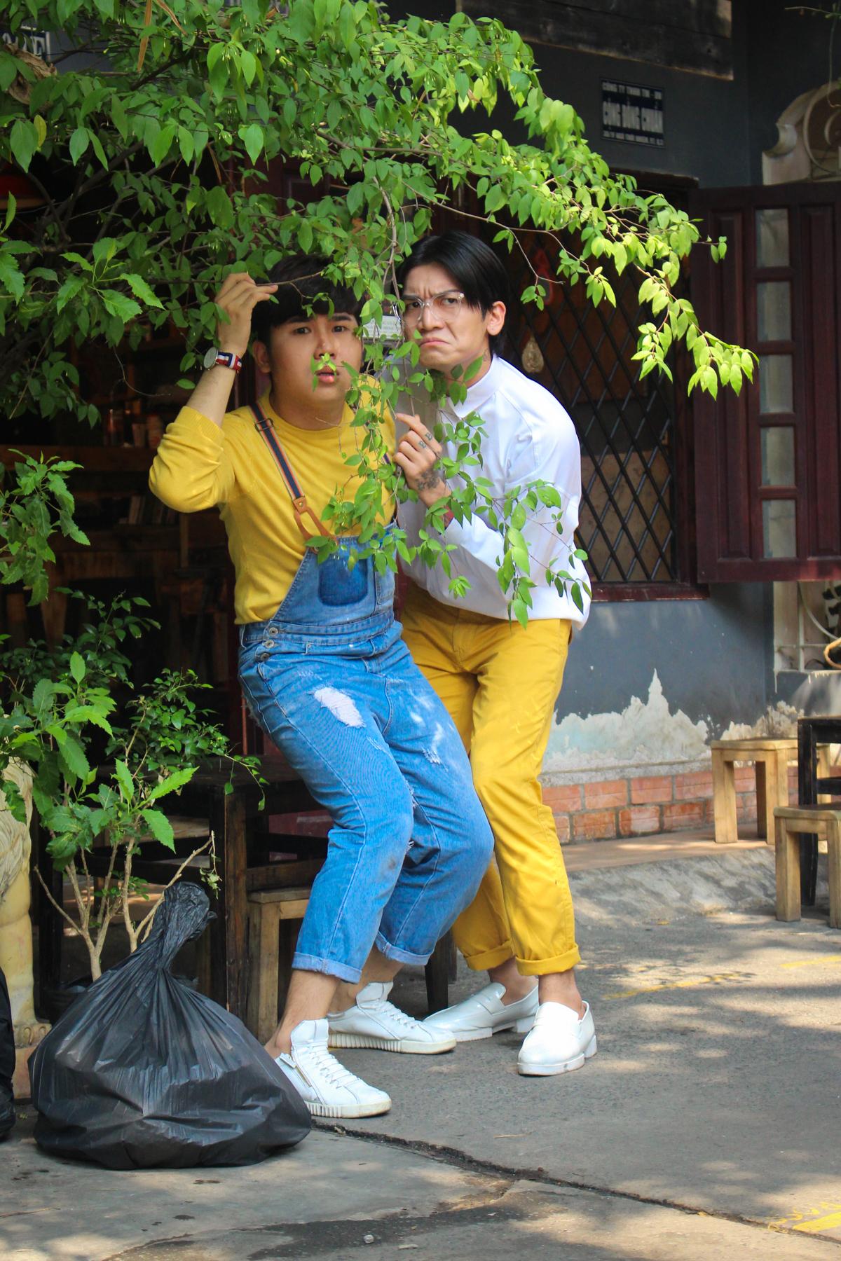 Sau vai diễn pháp sư, Huỳnh Lập trở thành Thượng đế trong dự án Web Drama mới