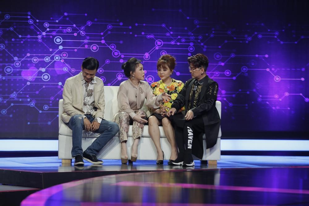 Việt Hương lần đầu lên tiếng về chuyện tình đơn phương của Tiết Cương ngay trên sóng truyền hình