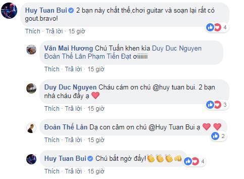 Grey-D và J (Monstar) cover Nghĩ về anh của Văn Mai Hương siêu ngọt ngào, nhạc sĩ Huy Tuấn cũng phải khen ngợi