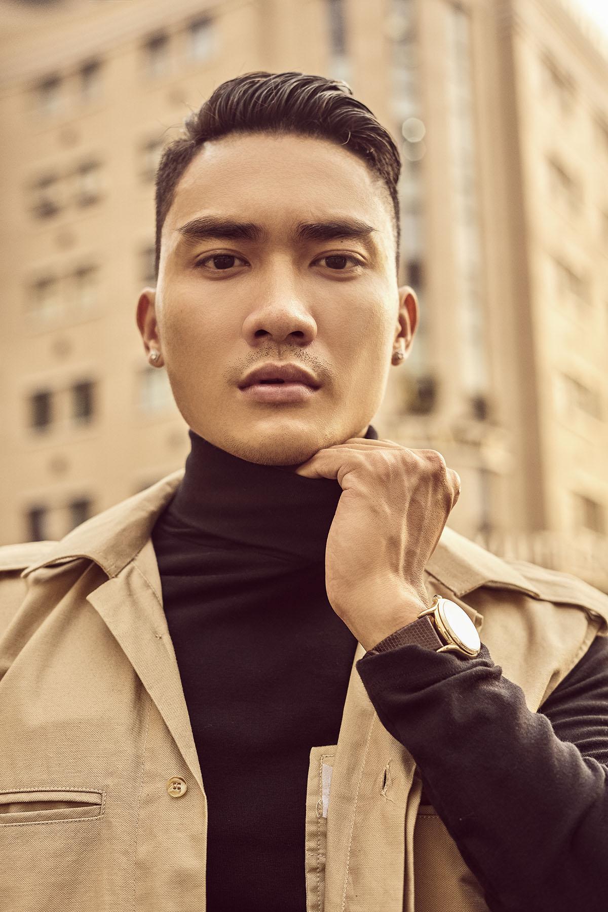 Lạnh lùng, nam tính, 'đẹp chuẩn soái ca', người mẫu Lương Gia Huy 'hớp hồn' fan nữ