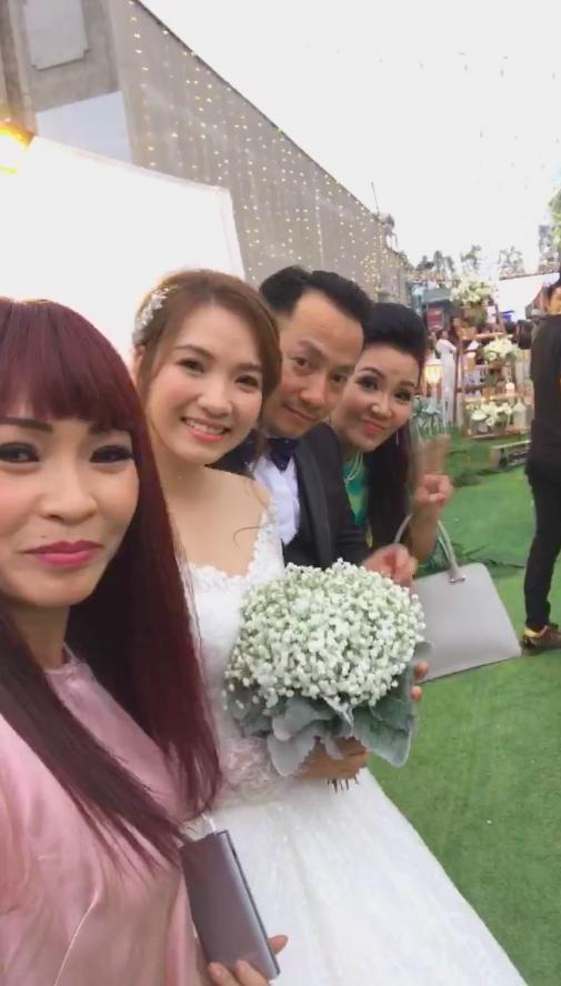 Dàn sao Việt hội ngộ trong đám cưới giản dị của Tiến Đạt và vợ hot girl