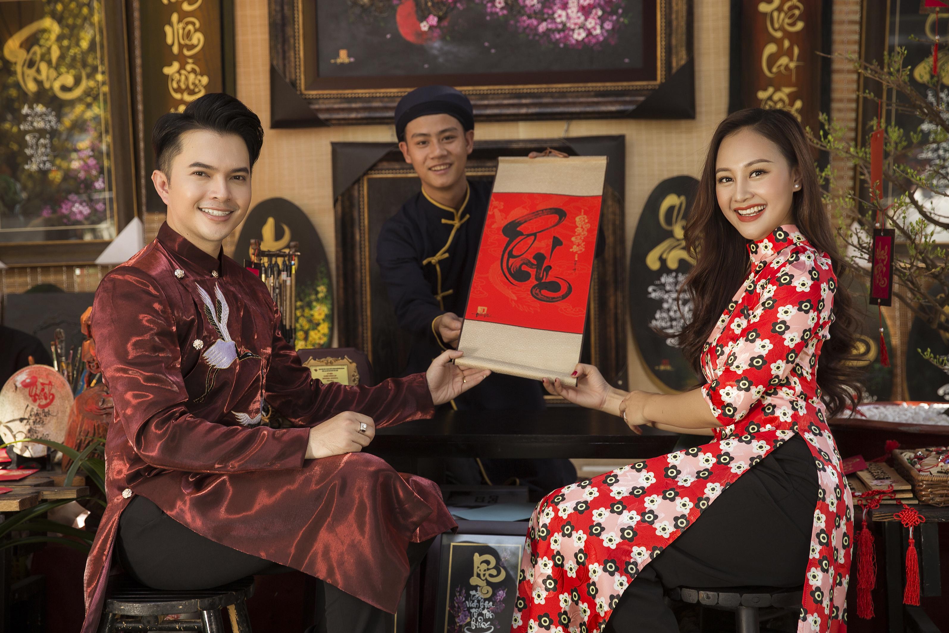 Nam Cường mở đầu năm 2019 với bộ ảnh xuân rực rỡ