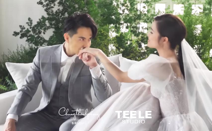 Đông Nhi giữ bí mật chiếc váy cưới chính thức với Ông Cao Thắng đến phút cuối