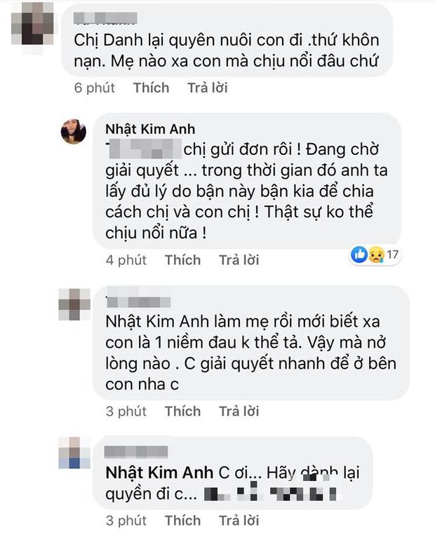 Bị chồng cũ cản trở gặp con, Nhật Kim Anh uất ức: Anh đừng ích kỷ nhỏ nhen đến vậy