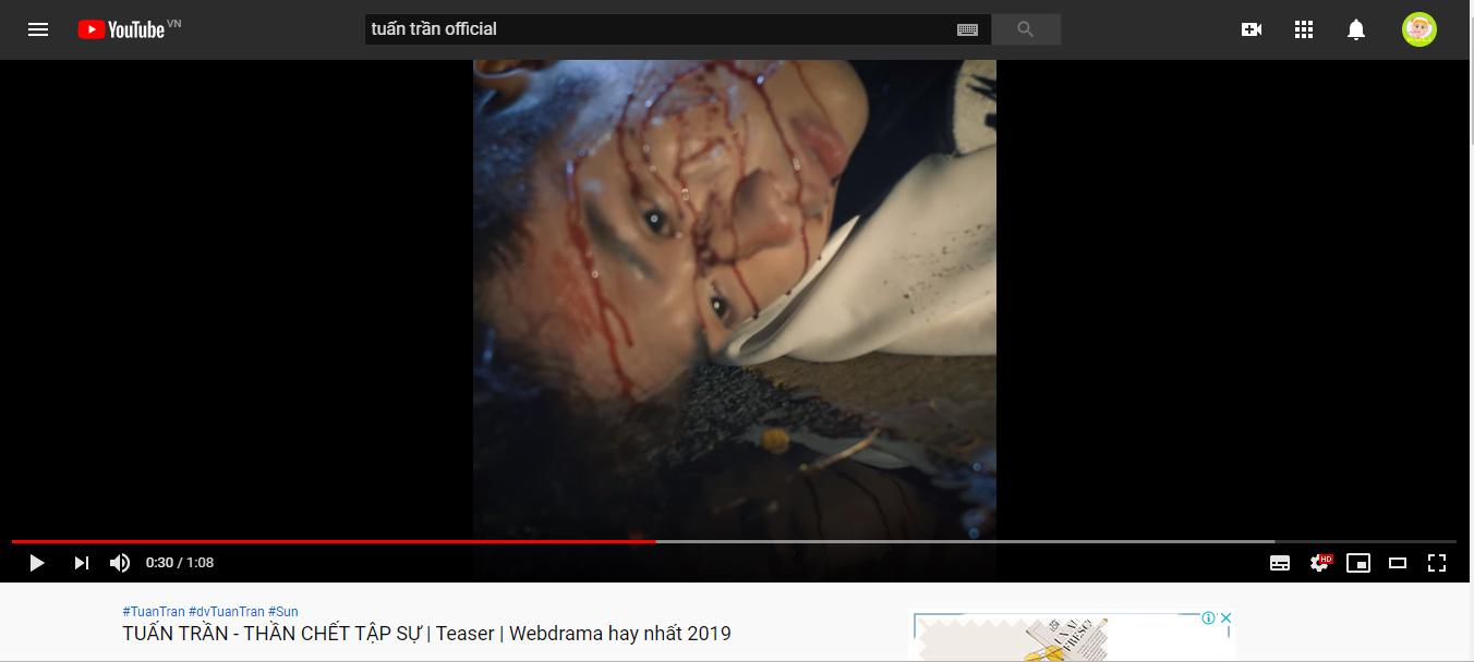 """Tuấn Trần bất ngờ """"đánh úp"""" fan với teaser web drama hoành tráng"""