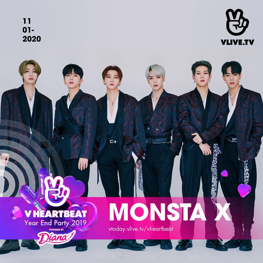 Dàn line-up cuối cùng của V Heartbeat Year End Party 2019 đã lộ diện