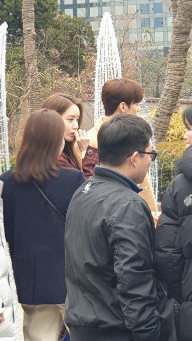 Cặp đôi visual Yoona - Cha Eun Woo gây sốt với ngoại hình cực phẩm bất chấp ảnh mờ nhòe