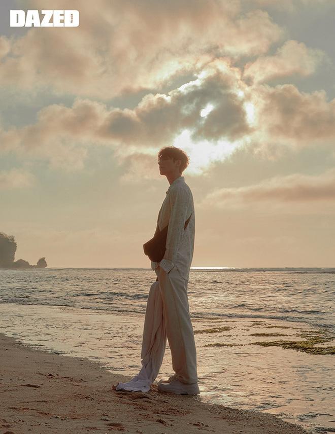 Lee Min Ho điển trai trong bộ ảnh mới, chiếc mũi thẳng tắp xuyên thủng trái tim chị em