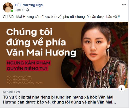 Trấn Thành, Trúc Nhân và dàn sao Việt cùng nhau lên tiếng bảo vệ Văn Mai Hương