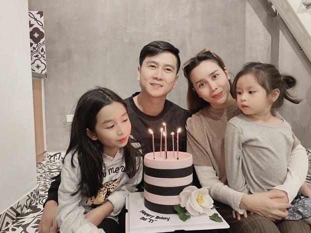 Lưu Hương Giang khoe ảnh hạnh phúc gia đình, tổ chức sinh nhật muộn cho Hồ Hoài Anh