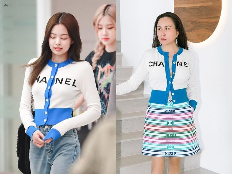 Những màn đụng hàng chan chát của Jennie (BLACKPINK) và Phượng Chanel: Một chiếc áo, hai số phận