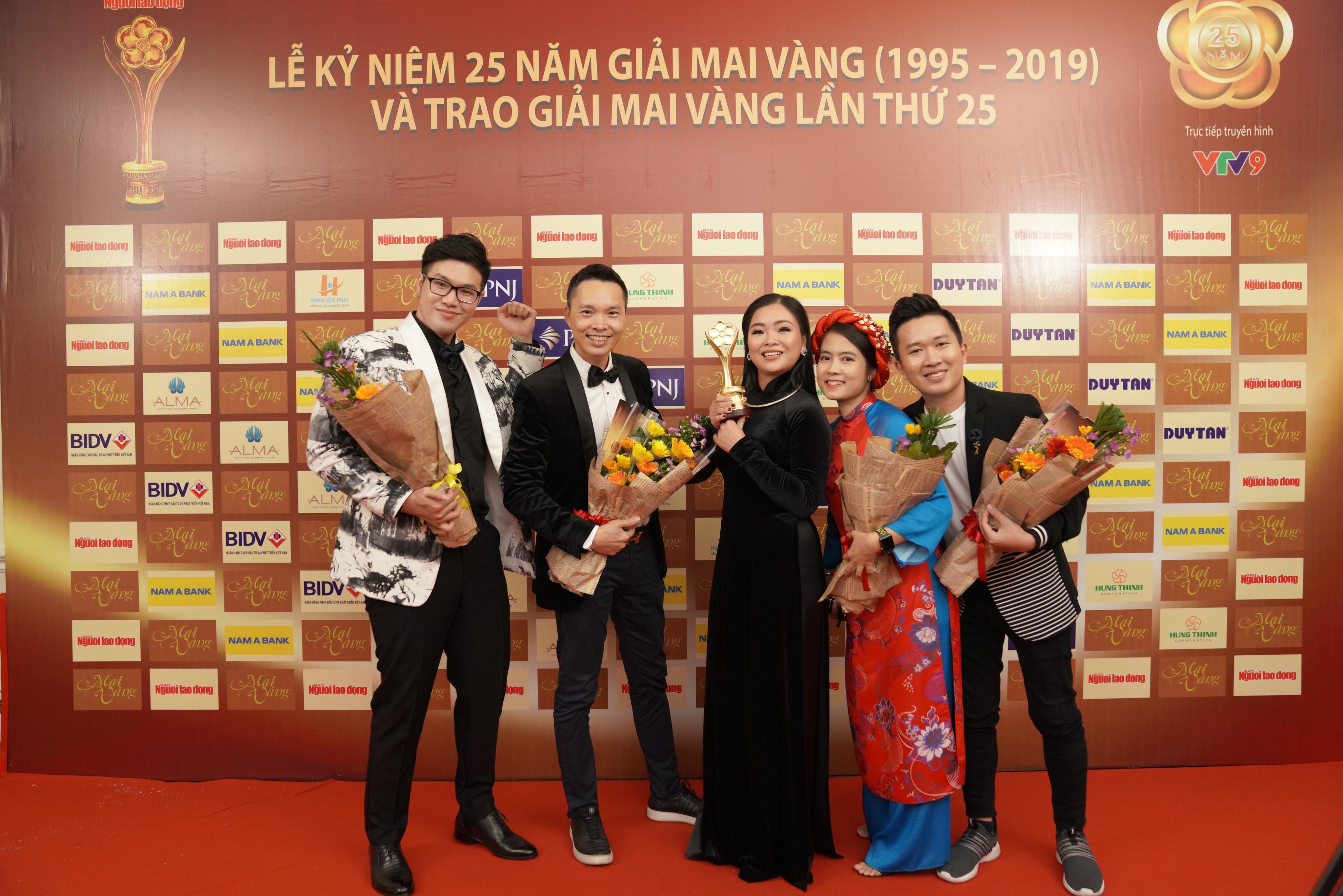 """Tiếp nối thành công của VTV Awards, """"Ký ức vui vẻ"""" tiếp tục rinh giải tại """"Mai Vàng 2019"""""""