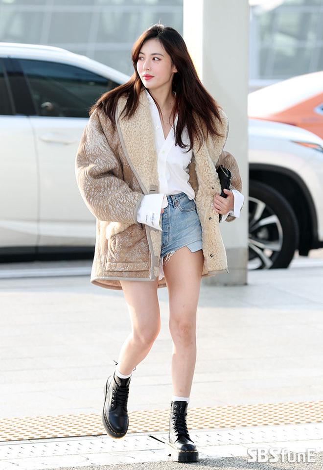HuynA đáp chuyến bay đến Việt Nam, Red Velvet xuất hiện sang chảnh tại sân bay