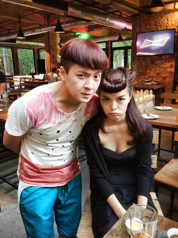 Được dịp gặp Phạm Quỳnh Anh, Ngô Kiến Huy khen ca khúc mới nhưng không quên... dìm hàng người yêu cũ