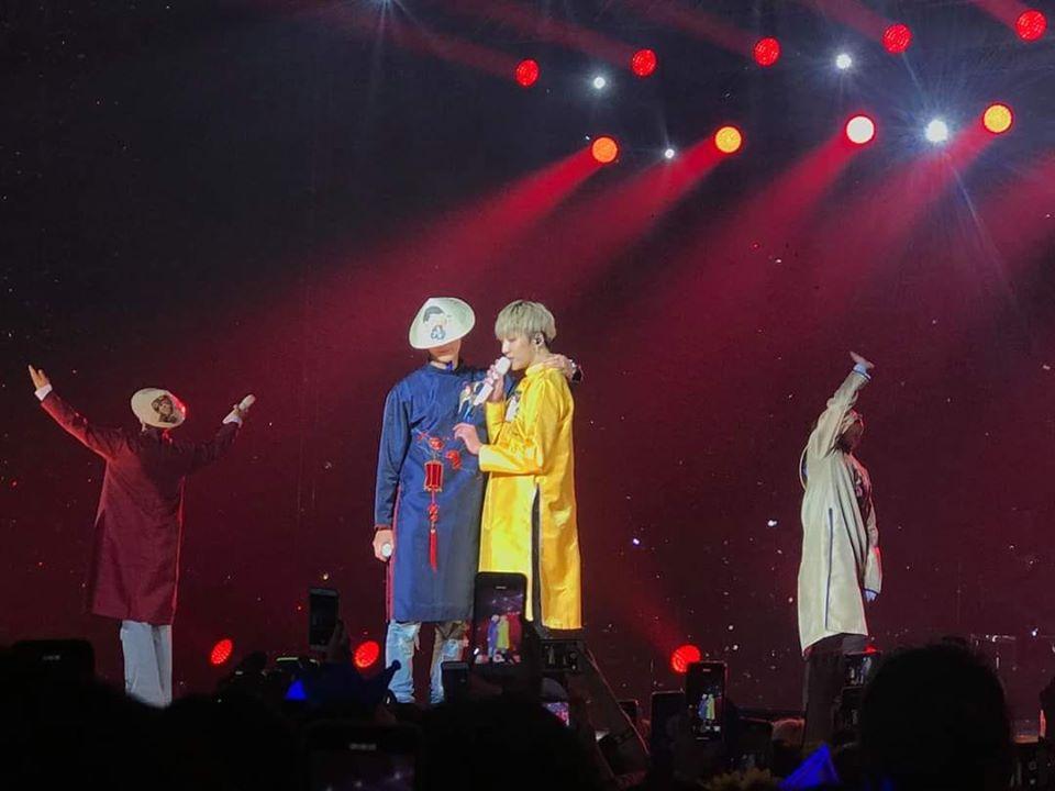 Fan bấn loạn khi WINNER mặc áo dài, hát tiếng Việt trong concert đầu tiên ở Việt Nam