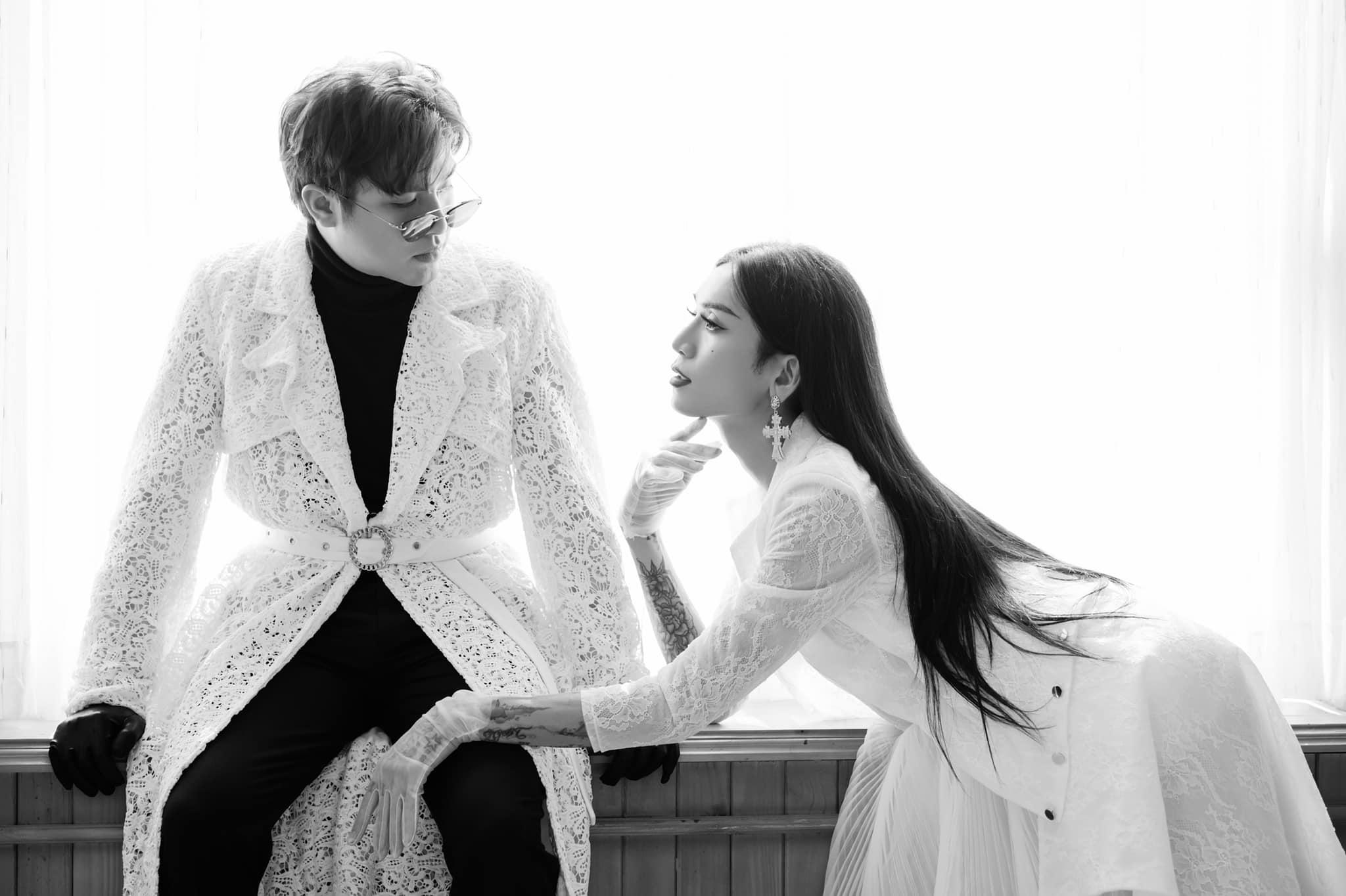 BB Trần và bạn trai hóa cô dâu - chú rể trong bộ ảnh kỷ niệm 4 năm 6 tháng yêu nhau