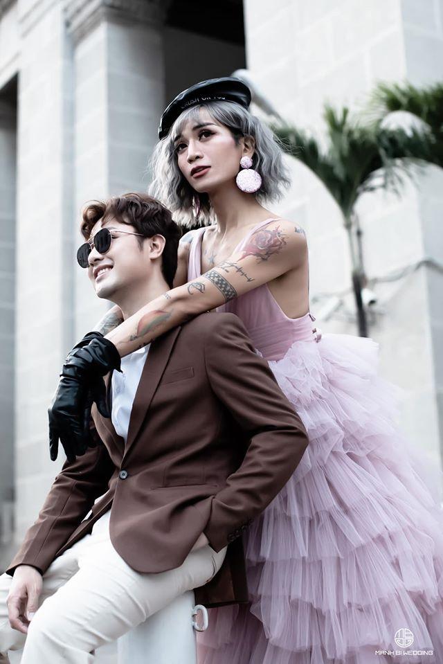 BB Trần tung tiếp loạt ảnh thứ 3 nhân kỷ niệm ngày yêu: Chụp tại Sài Gòn mà ngỡ ở trời Âu