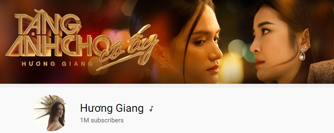 Kênh YouTube của Hương Giang cán mốc 1 triệu subscribers ngay trước thềm ADODDA 4
