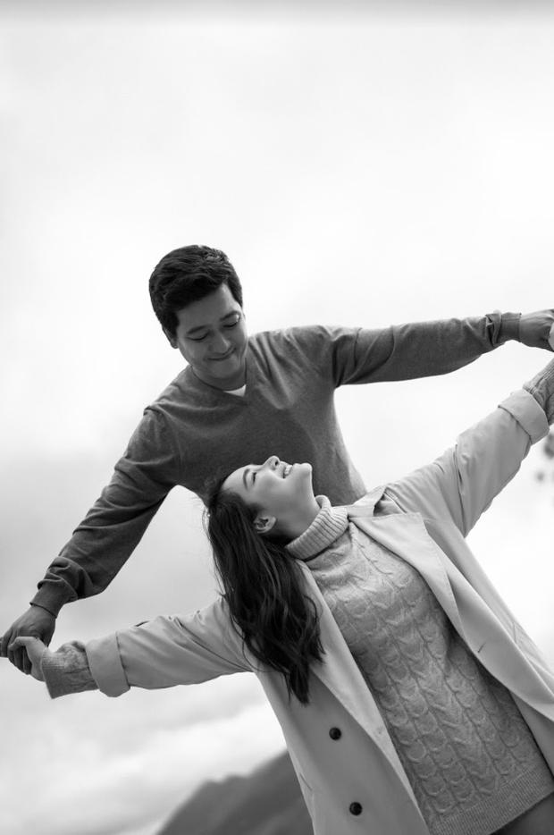 Trường Giang - Nhã Phương lần đầu tiên thực hiện bộ ảnh ngọt ngào bên nhau ngày Valentine