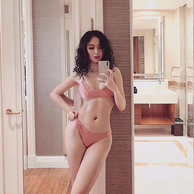 Angela Phương Trinh khoe thân hình chuẩn và múi bụng không vừa