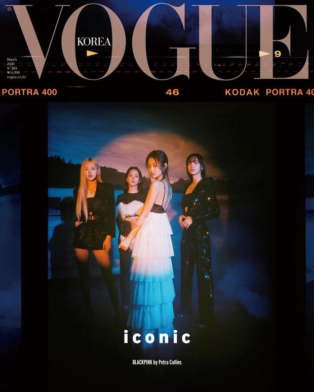 BLACKPINK đầy thần thái, sang chảnh hết mức trên bìa tạp chí Vogue nhưng tóc Lisa bị sao thế này?