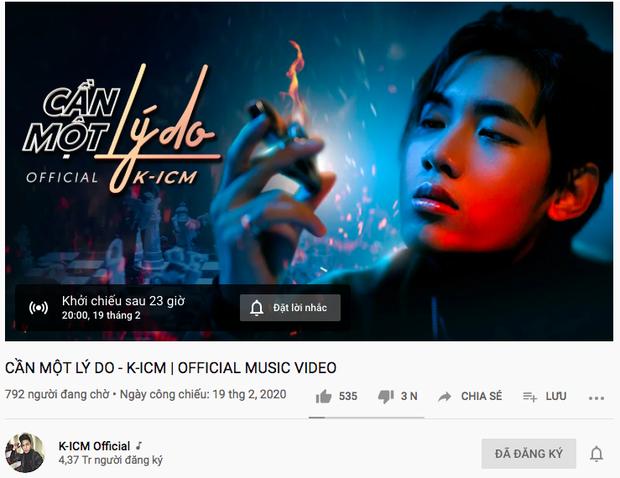 K-ICM gỡ teaser MV, clip comeback 16 giây của Jack đang đáp thẳng #3 trending Youtube cùng những con số ấn tượng