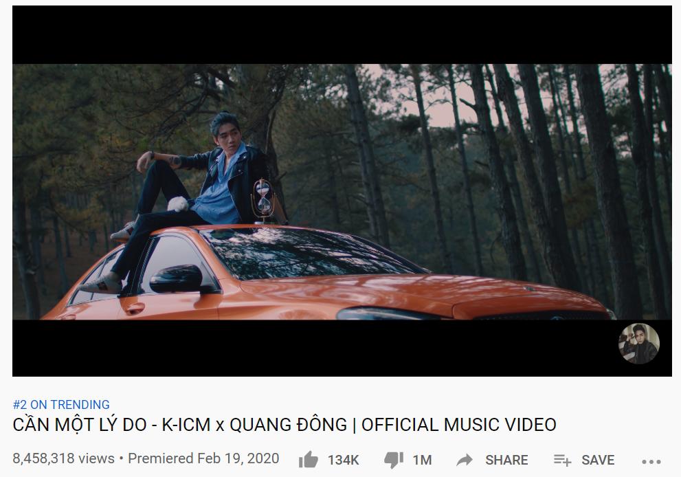 BTS đánh bật loạt MV của K-ICM, Orange, Jack để chiếm top 1 trending YouTube Việt Nam