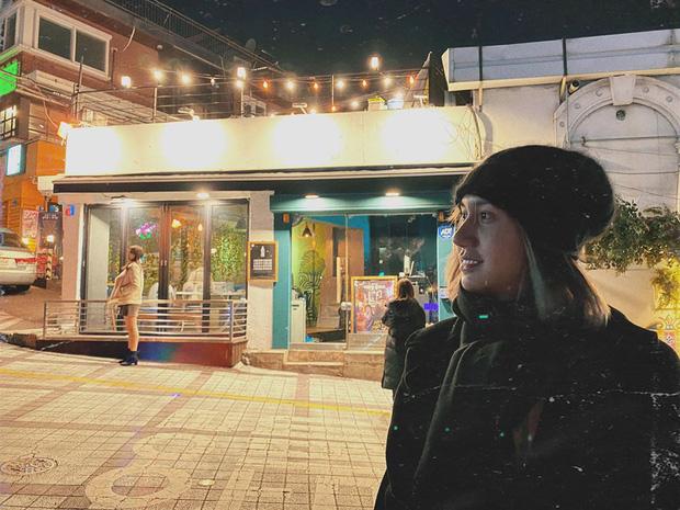Lynk Lee qua Hàn dao kéo, sẵn tiện ghé thăm quán nhậu Danbam để thăm ông chủ DanBam trong Itaewon Class