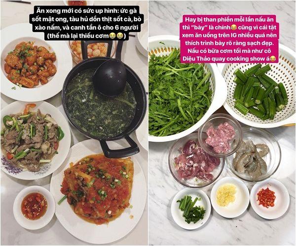 Bất ngờ với tài nấu ăn của dâu mới Tóc Tiên, không khác gì đầu bếp chuyên nghiệp