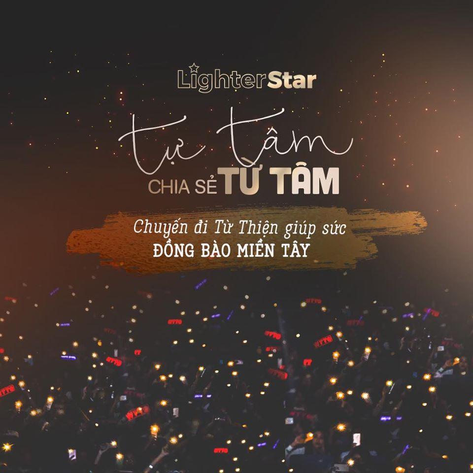 Nguyễn Trần Trung Quân và Denis Đặng quyên góp 100 triệu đồng, gây quỹ hỗ trợ người dân miền Tây