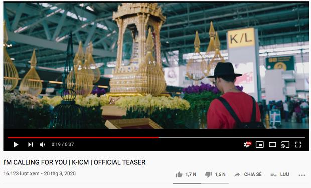 Hóa hận thù thành yêu thương, teaser mới của K-ICM lần đầu nhận lượt like nhiều hơn dislike?