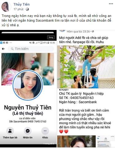 Quyên góp được hơn 12 tỷ làm từ thiện, Thủy Tiên cảnh báo bị làm giải Facebook để đi lừa tiền