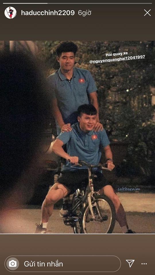 Quang Hải phản ứng hài hước khi liên tục bị trêu ghẹo sau trào lưu Hải, quay xe